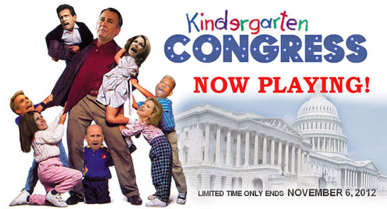 GOP TEA PARTY CONGRESS aka KINDERGARTEN CONGRESS