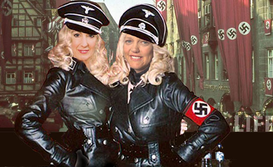 Sexy nazi women uniforms are