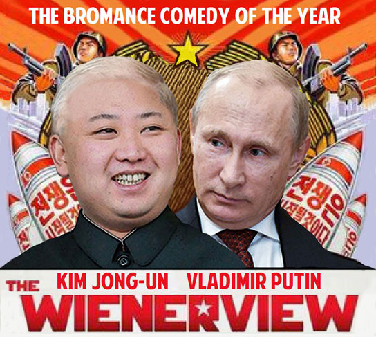 PUTIN INVITATION MAY LEAD TO BROMANCE OF THE YEAR